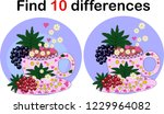 find differences teacup for... | Shutterstock .eps vector #1229964082