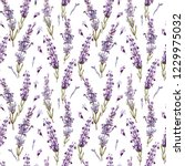watercolor pattern with... | Shutterstock . vector #1229975032