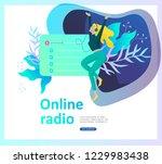 concept of internet online... | Shutterstock .eps vector #1229983438
