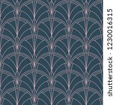 seamless art deco pattern.... | Shutterstock .eps vector #1230016315
