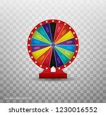 win fortune roulette. gamble... | Shutterstock . vector #1230016552