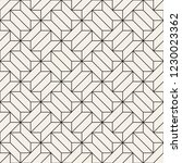 vector seamless geometric... | Shutterstock .eps vector #1230023362
