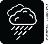 rain cloud icon for web and... | Shutterstock .eps vector #1230031915