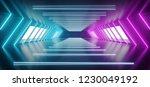 modern futuristic sci fi alien... | Shutterstock . vector #1230049192