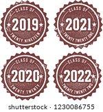 class of 2019  2020  2021  2022 ... | Shutterstock .eps vector #1230086755