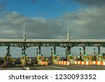 second severn crossing  wales   ... | Shutterstock . vector #1230093352