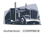 american truck icon | Shutterstock .eps vector #1230098818