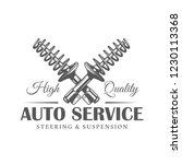 car service label isolated on... | Shutterstock .eps vector #1230113368