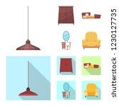 vector illustration of... | Shutterstock .eps vector #1230127735