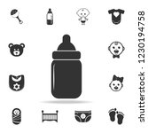sippy cup icon. set of child... | Shutterstock . vector #1230194758