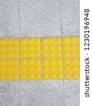 tactile paving for blind people | Shutterstock . vector #1230196948