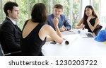 businessmen and engineer group...   Shutterstock . vector #1230203722