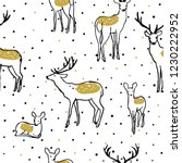 adorable seamless pattern with...   Shutterstock .eps vector #1230222952
