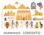 various cultural symbols of... | Shutterstock .eps vector #1230224722