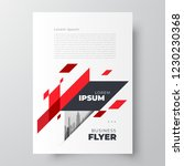 flyer brochure design template... | Shutterstock .eps vector #1230230368