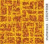 rusty seamless pattern. angular ... | Shutterstock .eps vector #1230293068