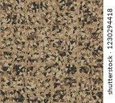 rusty seamless pattern. curve... | Shutterstock .eps vector #1230294418