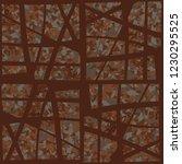 rusty seamless pattern.... | Shutterstock .eps vector #1230295525
