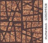 rusty seamless pattern.... | Shutterstock .eps vector #1230295528