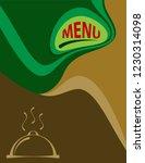 menu card design template...   Shutterstock .eps vector #1230314098