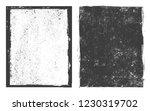 vector grunge frame.grunge... | Shutterstock .eps vector #1230319702