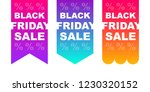 black friday sale ribbon banner ...