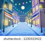 road over the street with... | Shutterstock .eps vector #1230323422