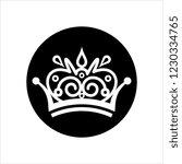 crown icon  crown vector art... | Shutterstock .eps vector #1230334765