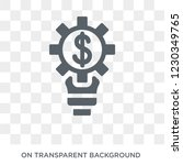 fintech innovation icon. trendy ...   Shutterstock .eps vector #1230349765