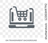ecommerce platform icon. trendy ... | Shutterstock .eps vector #1230349792