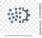 digital transformation icon.... | Shutterstock .eps vector #1230349852