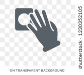 touch with four fingers icon....   Shutterstock .eps vector #1230352105