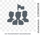 team leader icon. trendy flat...   Shutterstock .eps vector #1230360538