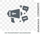 social campaign icon. trendy... | Shutterstock .eps vector #1230360595