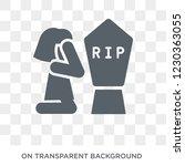 widow   widower icon. trendy...   Shutterstock .eps vector #1230363055