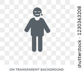 disappointed human icon. trendy ... | Shutterstock .eps vector #1230363208
