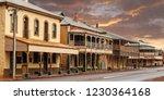 a street scene of traditional... | Shutterstock . vector #1230364168