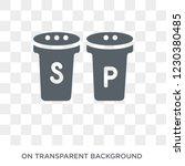 salt and pepper shakers icon.... | Shutterstock .eps vector #1230380485