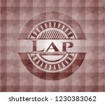 lap red seamless emblem with... | Shutterstock .eps vector #1230383062