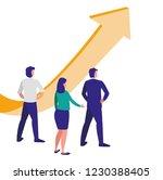 corporate businesspeople design | Shutterstock .eps vector #1230388405