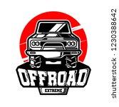 offroad extreme vector logo   Shutterstock .eps vector #1230388642
