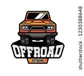 offroad extreme vector logo | Shutterstock .eps vector #1230388648
