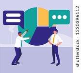 corporate businessmen design | Shutterstock .eps vector #1230396112