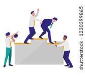 corporate businessmen design | Shutterstock .eps vector #1230399865