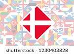 flag background of european... | Shutterstock .eps vector #1230403828