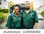 portrait of a team of paramedics   Shutterstock . vector #1230406582