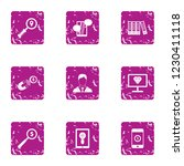 foreign currency icons set.... | Shutterstock .eps vector #1230411118