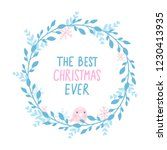 merry christmas and happy new... | Shutterstock .eps vector #1230413935