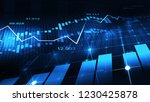 stock market or forex trading... | Shutterstock . vector #1230425878