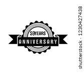 59 years anniversary... | Shutterstock .eps vector #1230427438
